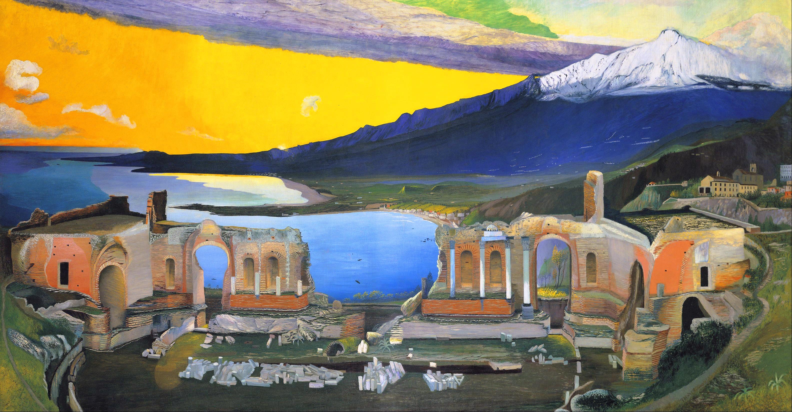 csontvary_kosztka_tivadar_-_ruins_of_the_greek_theatre_at_taormina_-_google_art_project